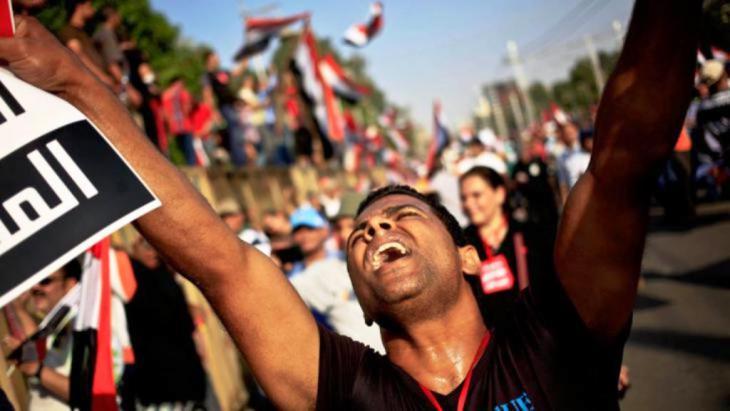 صورة رمزية للربيع العربي المنادي بالديمقراطية - Foto: picture-alliance/AP Photo/Khalil Hamra