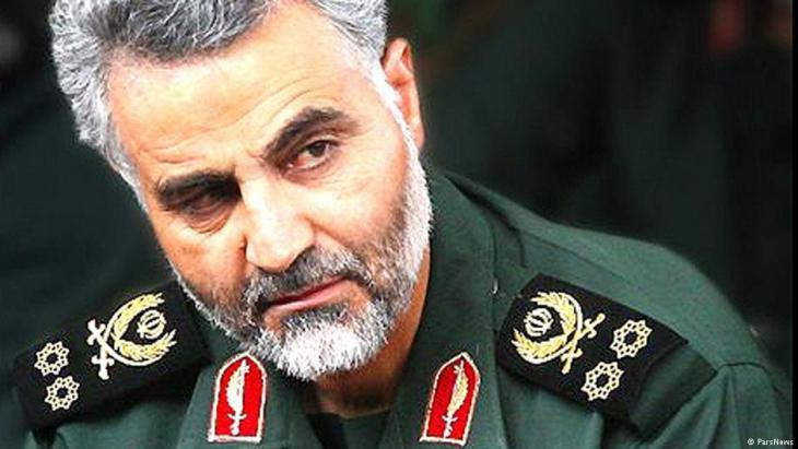 الجنرال الإيراني قاسم سليماني.