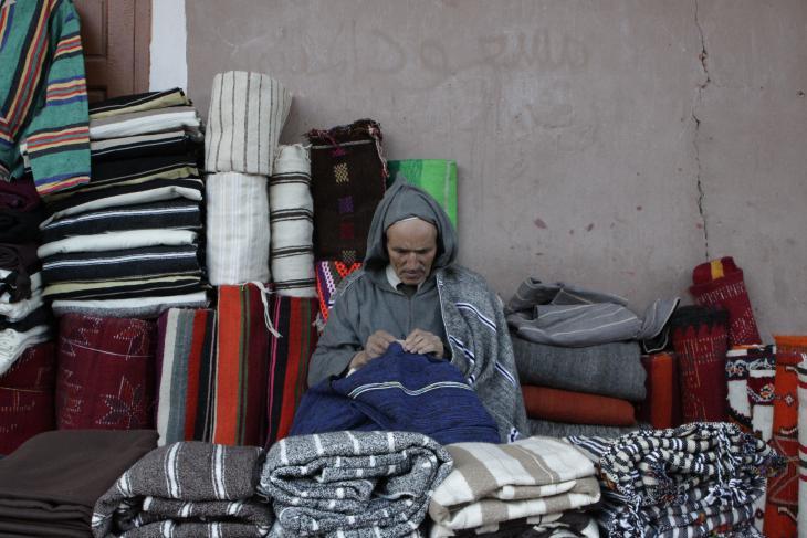 """اللوز - الصندوق الأسود لأهل تافراوت في المغرب - شجرة """"مقدسة"""" تخلق آلاف فرص العمل في المغرب - الصورة عن طريق: وصال الشيخ"""