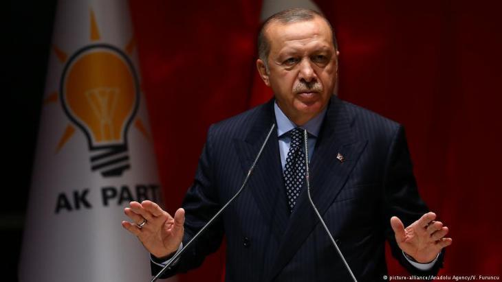 الرئيس التركي رجب طيب إردوغان.  Foto:picture-alliance