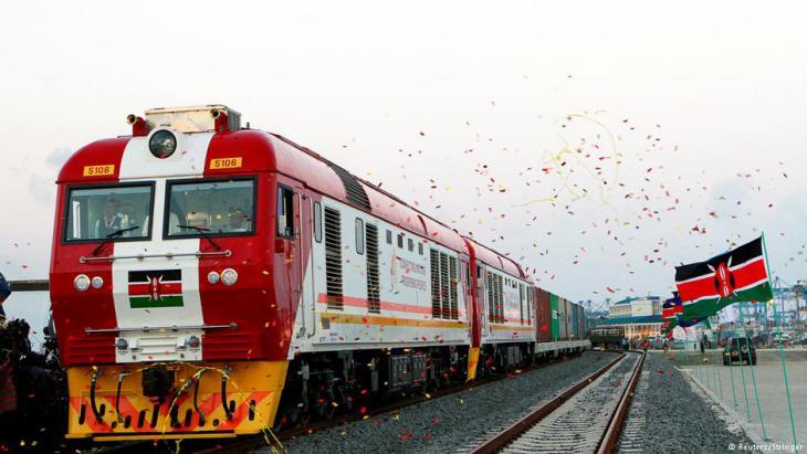 مشاركة الصين في بناء خطوط السكك الحديد في إفريقيا