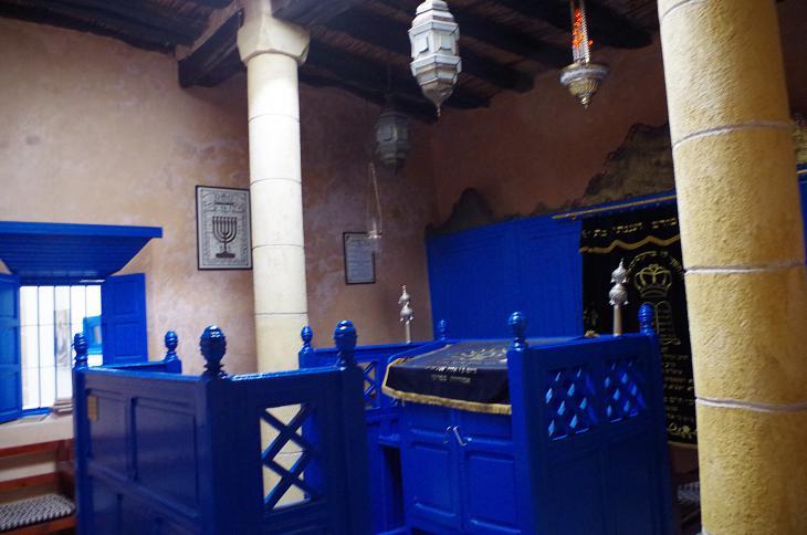 كنيس الحاخام حاييم بينتو - مدينة الصويرة - المغرب. (photo: Claudia Mende)