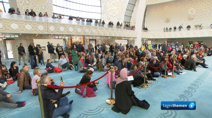 يوم المساجد المفتوحة في كولونيا بألمانيا: Screen shot TagesThemen