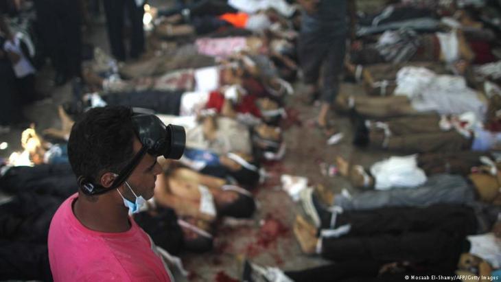 """فض اعتصام رابعة.. تنديد بـ """"الإفلات من العقاب"""""""