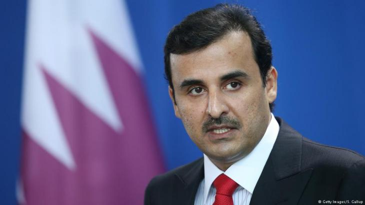 أمير قطر تميم بن حمد آل ثاني.  Foto: Getty Images