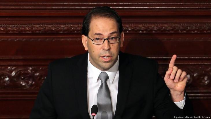 رئيس الوزراء التونسي يوسف الشاهد. Foto: picture-alliance/dpa