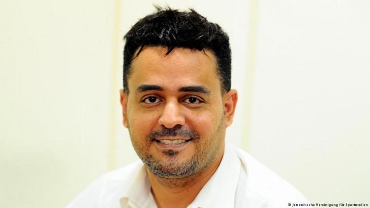 بشير سنان، رئيس الجمعية اليمنية للإعلام الرياضي