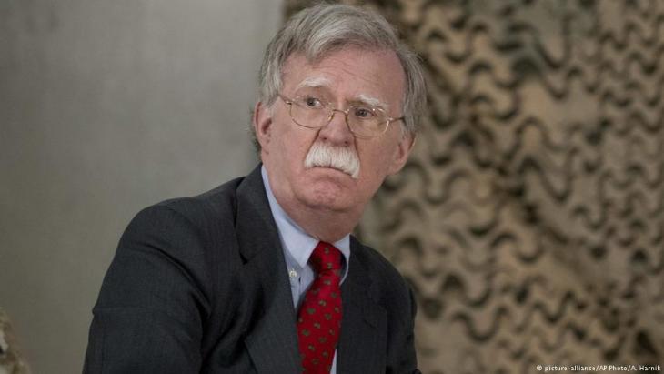 جون بولتون مستشار الأمن القومي الأمريكي. Foto: picture-alliance/AP