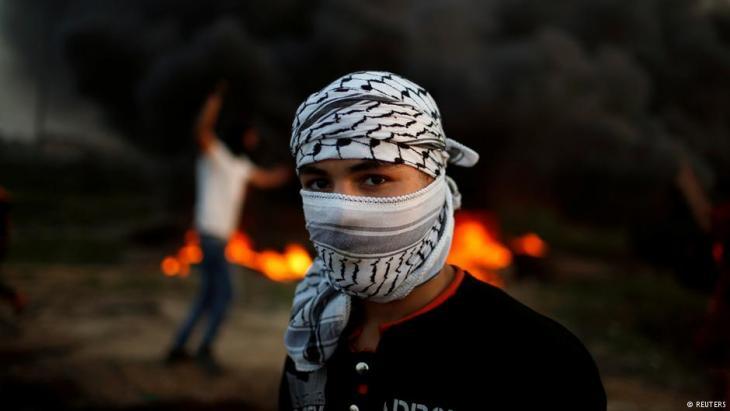 صورة رمزية - الانتفاضة الفلسطينية.  Foto: Reuters