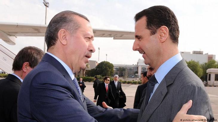 إردوغان والأسد في الماضي - هل تعود الساعة إلى الوراء؟