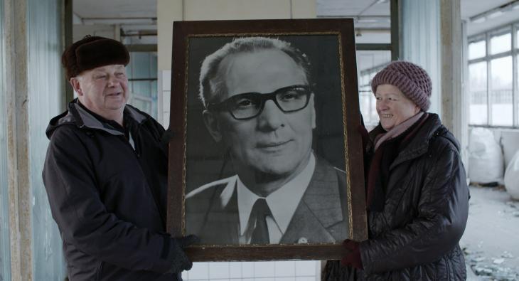 """لقطة من فيلم المخرج الألماني فلوريان كونِرت: """"التقدُّم في وادي الجاهلين"""".  Quelle: fortschritt-film.com"""