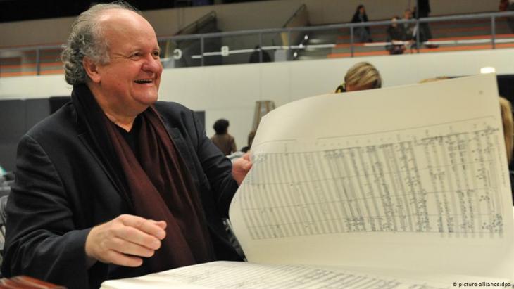 الموسيقار فولفغانغ ريم المولود عام 1952 في مدينة كالسروه الألمانية.