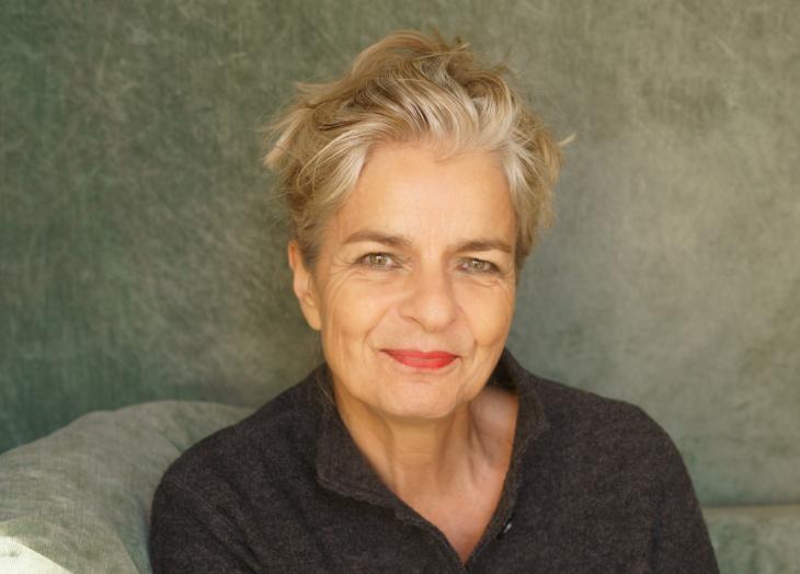 الصحفية والكاتبة الألمانية شارلوته فيديمان.  Foto: Anette Daugardt