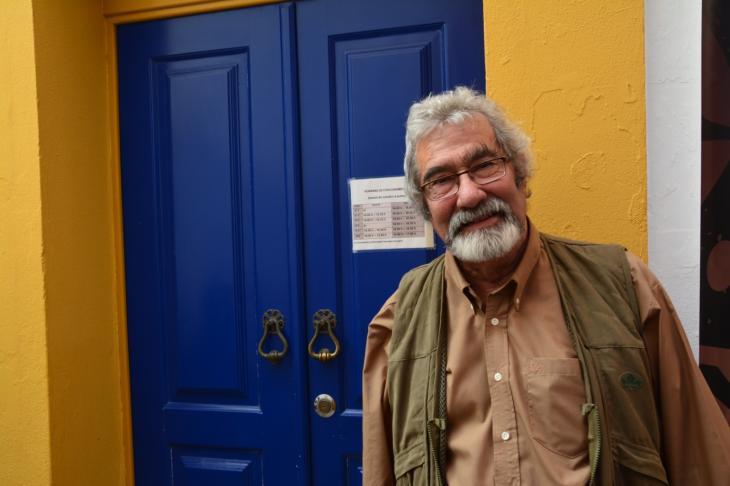 كلاوديو توريس عالم الآثار البرتغالي ومؤسس حقل ميرتولا الأثري.  Claudio Torres (photo: Marta Vidal)