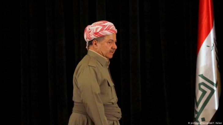 مسعود البرزاني - الرئيس السابق لإقليم كردستان المتمتع بالحكم الذاتي في شمال العراق. Foto: picture-alliance/AA