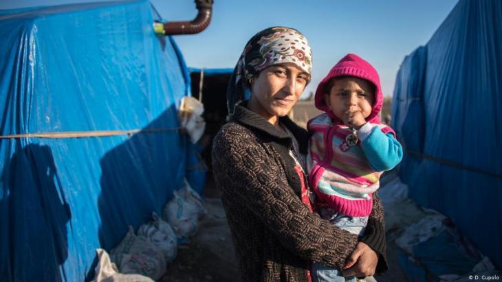 لاجئة سورية في أضنة - تركيا