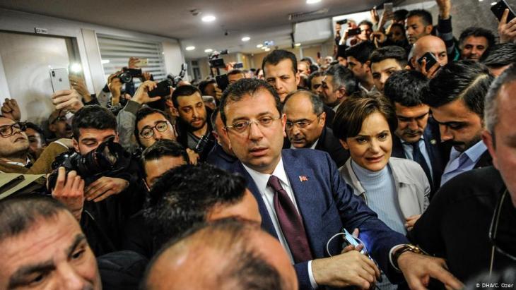 أكرم إمام أوغلو رئيس بلدية اسطنبول - تركيا
