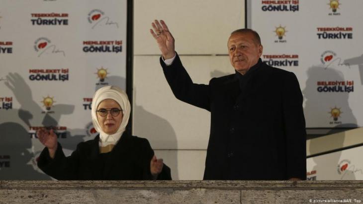 رئيس تركيا رجب طيب إردوغان