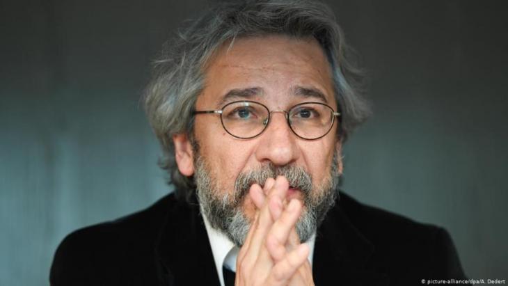 رئيس تحرير صحيفة جمهوريت السابق جان دوندار يعيش في منفاه في ألمانيا. الصورة: بيكتشر ألينس ود ب ا