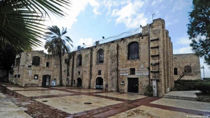 المسرح العربي العبري في يافا - نموذج للدولة الديمقراطية العلمانية. Foto: Imago /Sepp/Spiegel