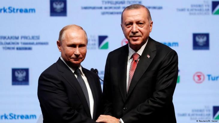 الرئيس الروسي والرئيس التركي في مواجهة الولايات المتحدة