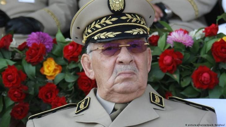 الجنرال أحمد قايد صالح - الجزائر. Foto: dpa/picture-alliance