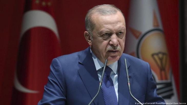 الرئيس التركي رجب طيب إردوغان. Foto: picture-alliance/AP