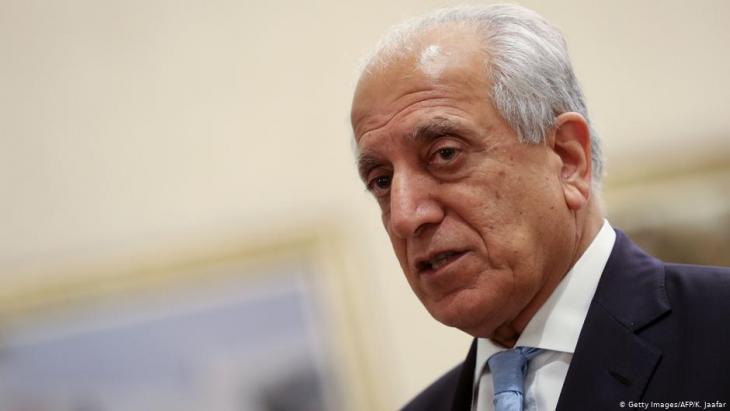 مبعوث ترمب الخاص للمصالحة الأفغانية، الأفغاني الأمريكي زلماي خليل زاده:  Foto: Getty Images/AFP
