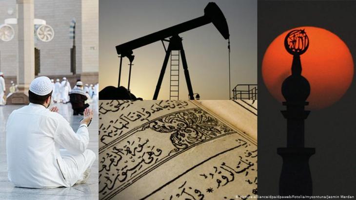 صورة رمزية - ثالوث: رجال الدين والنفط والأسرة الحاكمة في السعودية.  Fotolia.com