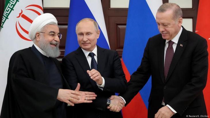 بوتين وروحاني وأردوغان في قمة ثلاثية حول إدلب السورية