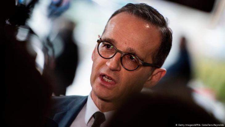 وزير الخارجية الألماني هايكو ماس.  (photo: Getty Images/AFP/A. Caballero-Reynolds)