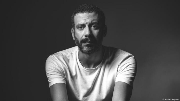 """الفنان المصري محمد فرَّاج، ممثل في فيلم """"الممر"""" ـ"""