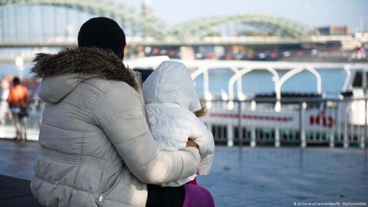 صورة رمزية - مهاجرة أو لاجئة في ألمانيا