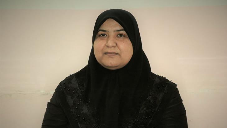 فريال الكعبي رئيسة منظمة أوان للتوعية وتنمية القدرات - العراق. | Perspectives, Manar Al-Zubaidi)