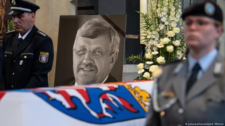 السياسي المغدور فالتر لوبكه كان مدرجاً على قائمة قتل
