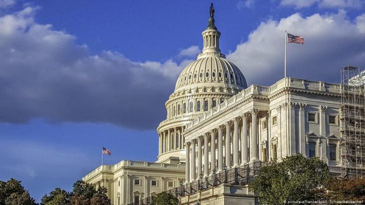 الكبيتول - مبنى الكونغرس الأمريكي