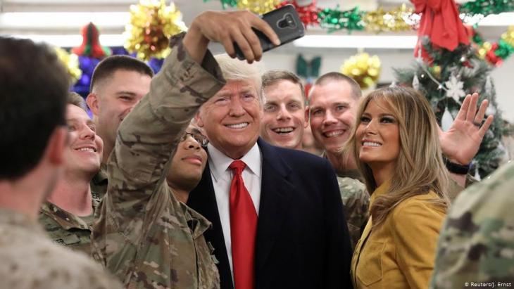 الرئيس الأمريكي دونالد ترامب لن يتنازل بسهولة عن التواجد الأمريكي في العراق لصالح إيران.