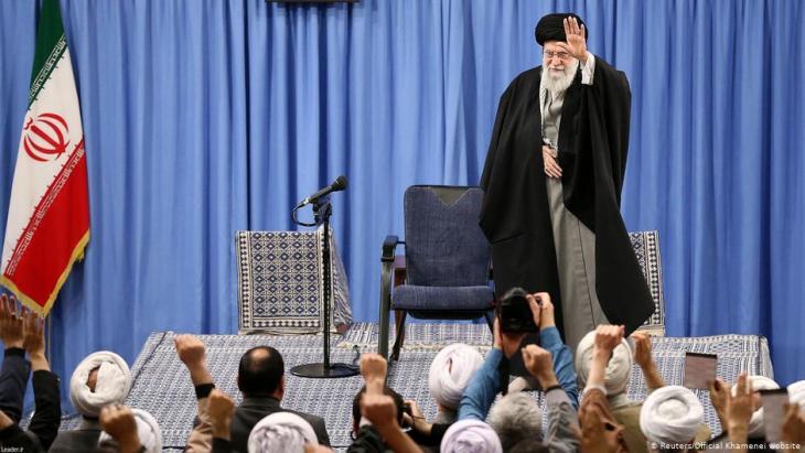 مرشد الثورة الإسلامية الإيرانية علي خامنئي. Foto: Reuters