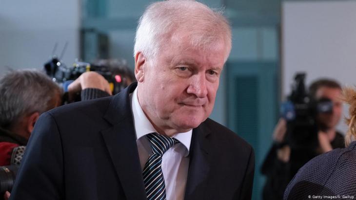 وزير الداخلية الألماني هورست زيهوفر.  Foto: Getty Images/S.Gallup
