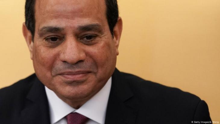الرئيس المصري عبد الفتاح السيسي. Foto: Getty Images