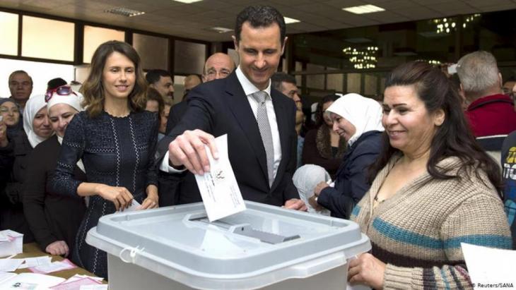 انتخابات برلمانية في ظل قمع نظام الأسد في 13 أبريل 2016