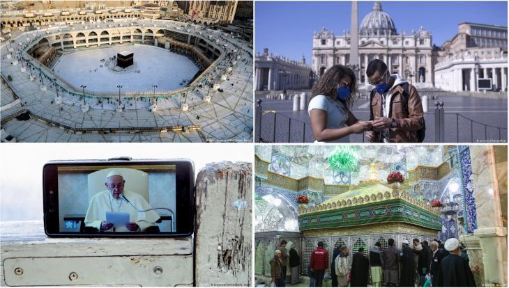 مكة الكعبة - الفاتيكان البابا - قُم إيران