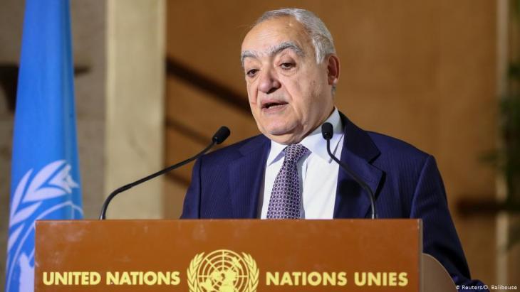 غسان سلامة، المبعوث الأممي لحلّ النزاع في ليبيا