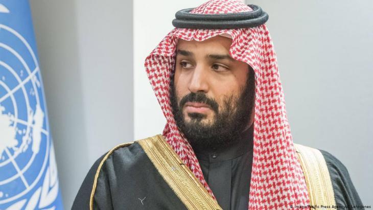 ولي العهد السعودي محمد بن سلمان. Foto: Imago
