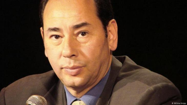 الكاتب والروائي المصري المعروف خالد الخميسي. الصورة فيلما كنيب