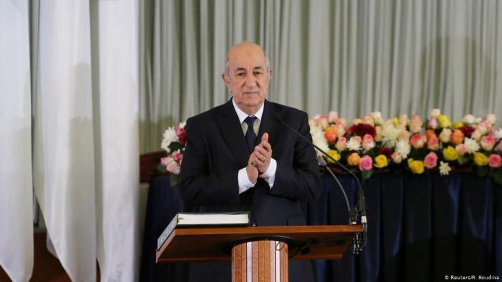 الرئيس الجزائري عبد المجيد تبّون.
