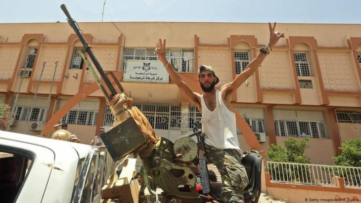 استعاد قوات حكومة الوفاق الوطني ترهونة عقب أقل من يوم واحد من السيطرة على طرابلس وضواحيها بالكامل