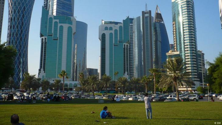 ناطحات سحاب الدوحة – قطر. Foto: Brigitte Osterath