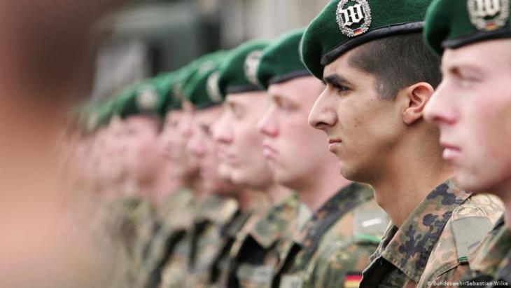 جنود في الجيش الألماني Foto: Bundeswehr/Sebastian Wilke