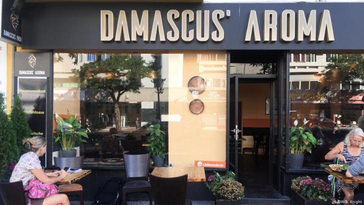 Sمطعم سامر سيروان وزوجته أريج –اسم المطعم Damascus Aroma- في برلين عاصمة ألمانيا. (photo: DW/B. Knight)